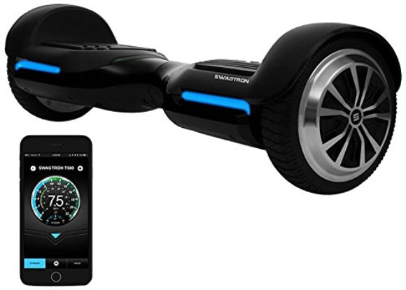 Swagtron Vibe T580 App-Enabled Bluetooth Hoverboard