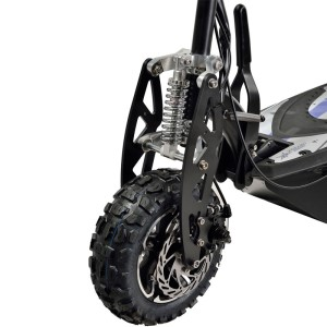 UberScoot 1600w 48v Electric Scooter front wheel