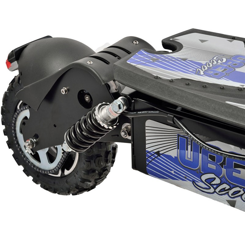 UberScoot 1600w 48v Electric Scooter rear wheel