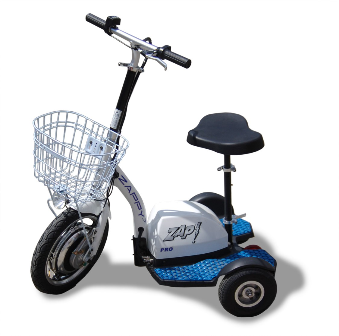 Zappy 3 Pro Jr. Three Wheeled Electric Scooter