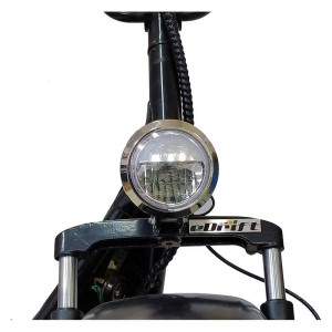 eDrift 2000w UH-ES295 Fat Tire Electric Scooter headlight