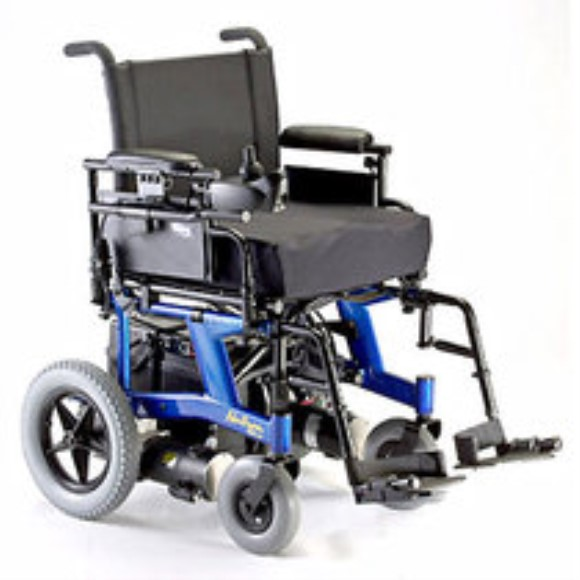 Invacare Nutron R51LXP Folding Power Wheelchair