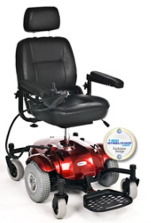 ActiveCare Catalina Mid Wheel Drive Power Chair
