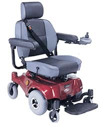 CTM Compact Mid-Wheel Drive Power Chair