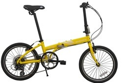 Bazooka Nautica-X 7-Speed Folding Bicycle