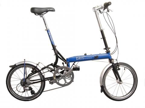 Bike Friday Tikit, the fastest folding folding-bike