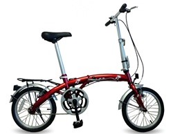 "GreenLine 16"" Folding Bicycle"