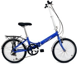 "Verso Cologne 7 Speed 20"" Folding Bike"