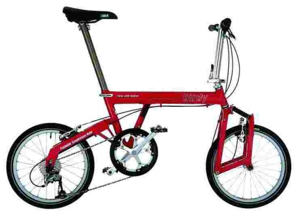 Birdy Folding Bike (Red)