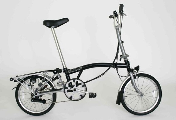 Brompton M6R-NYC Folding Bicycle