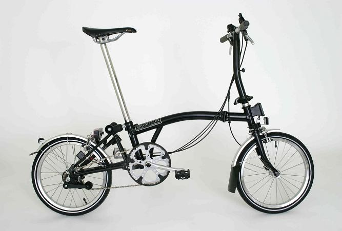 Brompton S6L-PLUS Folding Bicycle