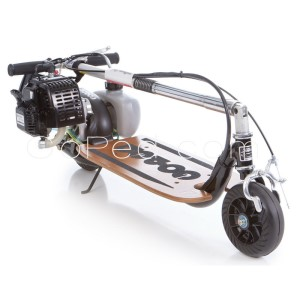 Go-Ped GSR Sport Gas Scooter folded