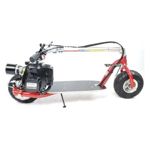 Go-Ped Super GSR46R gas scooter folded