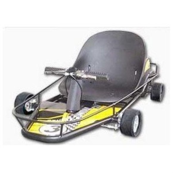 Scooterx 49cc Power Kart - Gas Powered Gokart