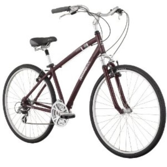 Diamondback Edgewood Men's Comfort Hybrid Bike (700c Wheels)