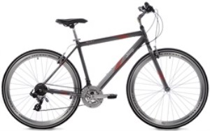 JEEP Men's Compass Hybrid 21 Speed Bicycle