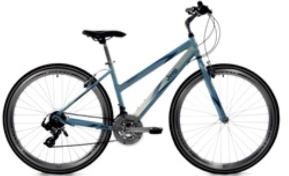 JEEP Women's Compass Hybrid 21 Speed Bicycle