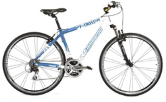 Lombardo F-Cross 500 Italian 21-Speed Hybrid Bike