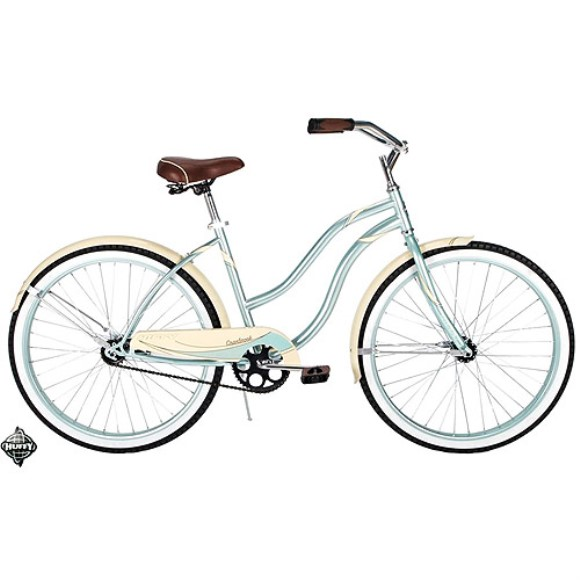26' Huffy Women's Cranbrook Cruiser/Comfort Bike, Mint Green