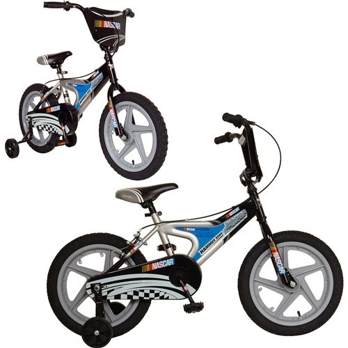 Cycle Force NASCAR 16 Hammer Down Kids Bike