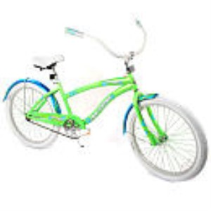 Avigo 24 inch Girls Beach Cruiser Bike