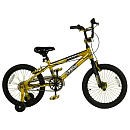 Avigo 18 inch Boy's Ignite Gold BMX Bike