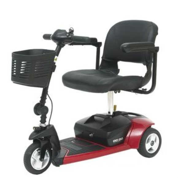 Pride Go-Go Ultra X 3-Wheel Travel Scooter