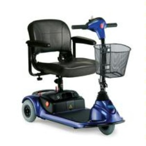 Invacare Lynx L3 3-Wheel Travel Scooter