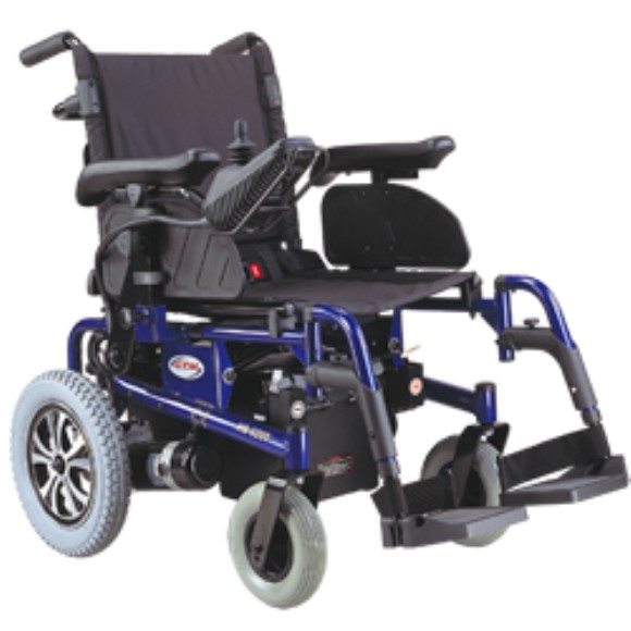 CTM HS-6200 Folding Power Chair with Drop-In Battery