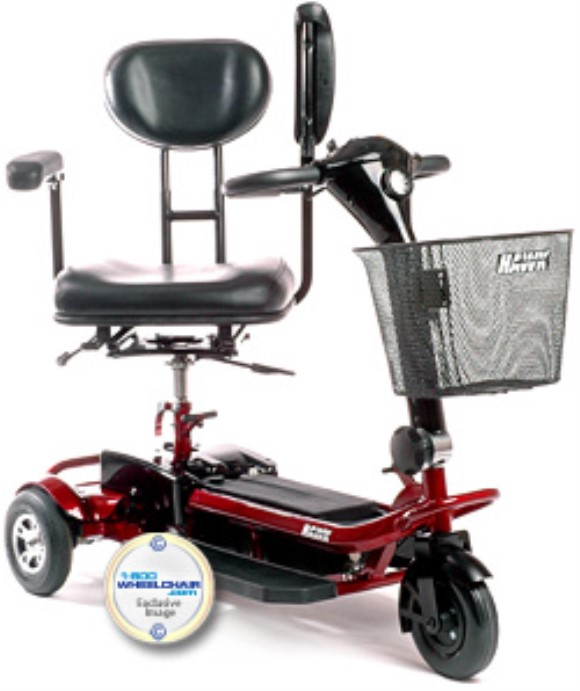 Drive Medical Hawk 3-Wheeled Scooter