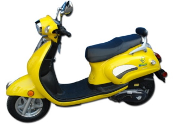 Classic 50cc scooter