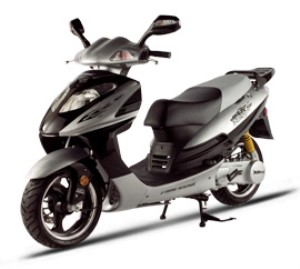 X-treme XM-150 Gas Powered Moped