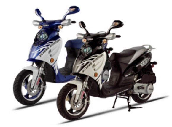 X-treme XM-160 Gas Powered Moped