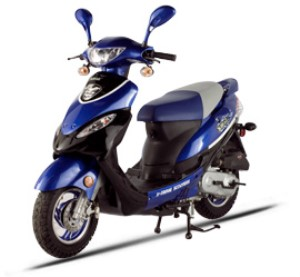 X-treme XM-50 Gas Powered Moped