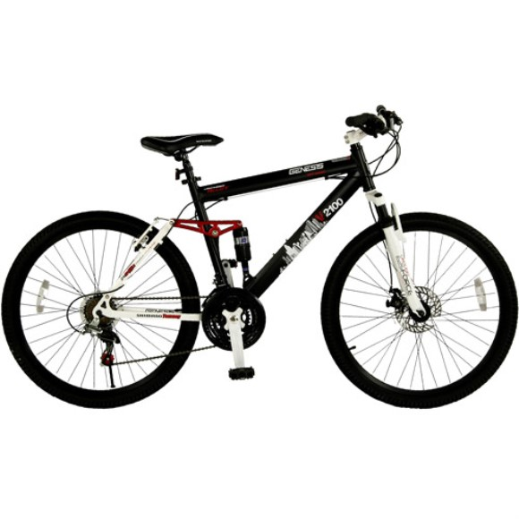 "Genesis 26"" Men's V2100 Dual-Suspension Bicycle"