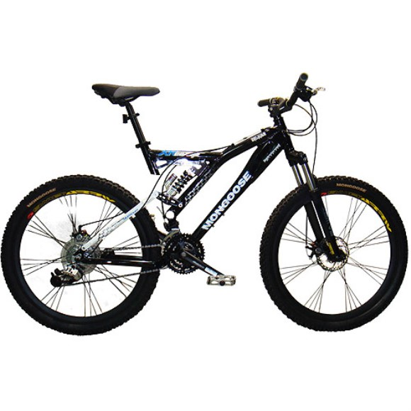 "26"" Men's Mongoose XR-Comp Dual-Suspension Bike"