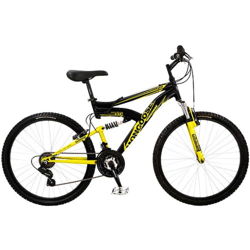 26 Mongoose Xr 75 Dual Suspension Men S Bike Mountain Bikes Urbanscooters