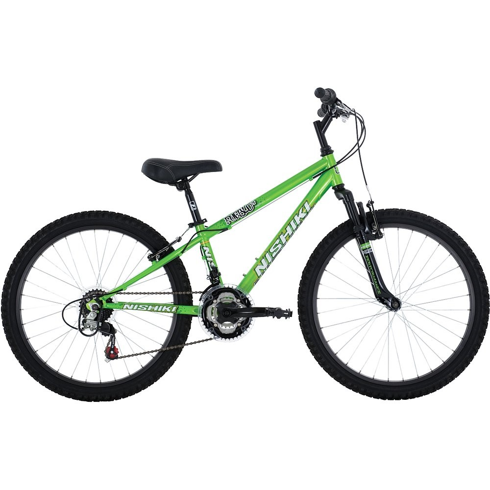 Nishiki Pueblo 24 Boys' Front Suspension Mountain Bike