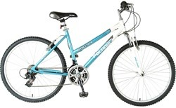 "Polaris 600RR 26"" Women's 21 Speed Suspension Hardtail Mountain"