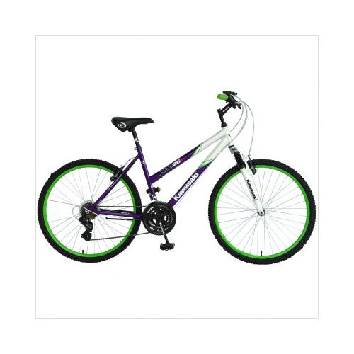 Kawasaki KX26G Ladies Hardtail 18-Speed Mountain Bike