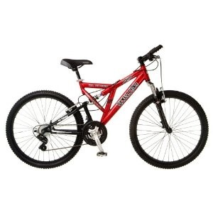 Mongoose Domain Men S Dual Suspension Mountain Bike Mongoose