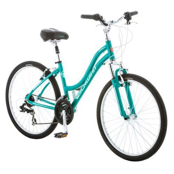"Schwinn Ridge AL 26"" Woman's 21 Speed Suspension Mountain Bike"