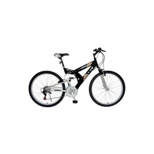 "Titan Punisher 26"" Dual-Suspension 21 Speed All-Terrain Bicycle"