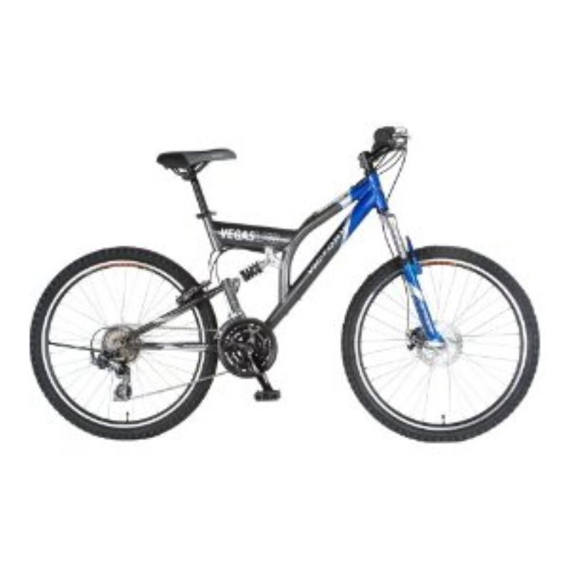 Victory Vegas Low Adult Dual-Suspension Mountain Bike (26-Inch ...