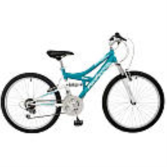 Pacific Cycle Chromium 24 inch Girl's Mountain Bike