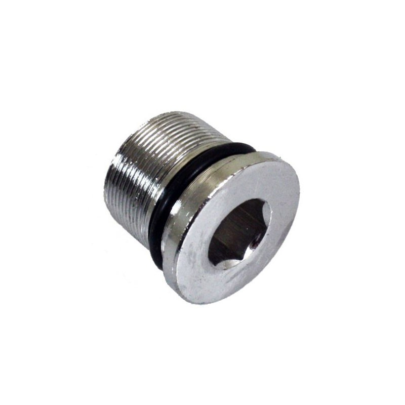 Front Fork Oil Lock Plug, Part #100-100