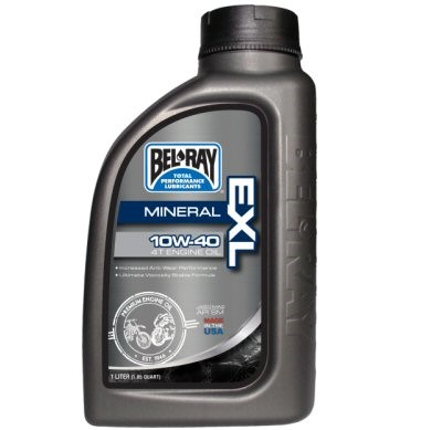 Bel-Ray EXL Mineral 4T Engine Oil, Part #172-111