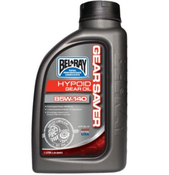 Bel-Ray Gear Saver Hypoid Gear Oil 80W-90, Part #172-118
