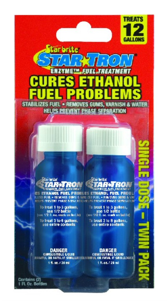 Star Tron Enzyme Treatment Gas Additive 1 oz Shooters, Part #172-135