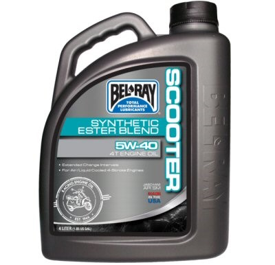 Bel-Ray Scooter Synthetic Ester Blend 4T Engine Oil, Part #172-136